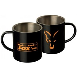 Fox Stainless Black XL 400ml Mug FFF