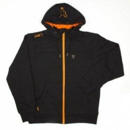 Fox Heavy Lined Hoody Black/Orange