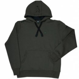 Fox Hoodie Green/Black