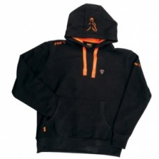 Fox Hoodie Black/Orange