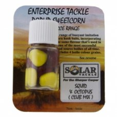 Enterprise Tackle Popup Sweetcorn Solar Squid and Octopus and Club Mix Yellow