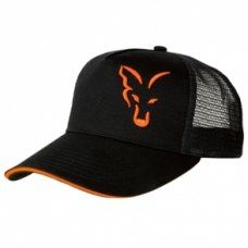 Fox Trucker Cap Black/Orange