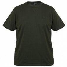 Fox Brushed T Shirt Green/Black