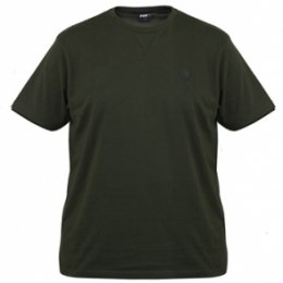Fox Brushed T Shirt Green/Black