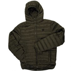 Fox Chunk Quilted Jacket Olive