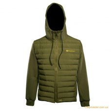 RidgeMonkey APEarel Dropback Heavyweight Zip Jacket Green