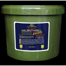 Carpio Halibut+Krill Hi-Attract Pellets 20mm 3kg
