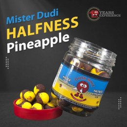 "Dudi Bait HookBait Mister Dudi ""Halfness"" Pineapple 14mm"