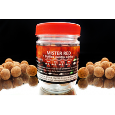 Dudi-Bait Hook boilies Mister Red