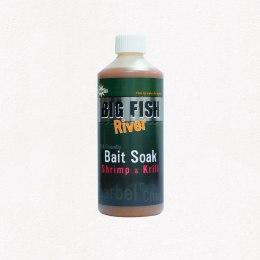 Dynamite Baits Big Fish River Bait Soak Shrimp and Krill 500ml