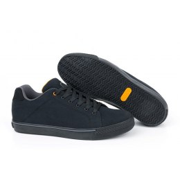 Fox Black and Orange Casual Trainers