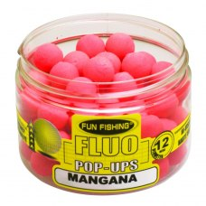 Fun Fishing Fluo Pop-Ups Rose Mangana