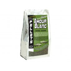 Fun Fishing Amour Blanc Herbe/Gazon Pellets 6mm 1 kg