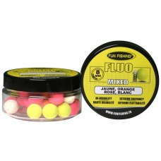 Fun Fishing Fluo Pop-Ups Mixed 8mm