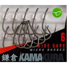 Korda Kamakura Wide Gape Hooks №4