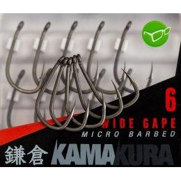 Korda Kamakura Wide Gape Hooks №6
