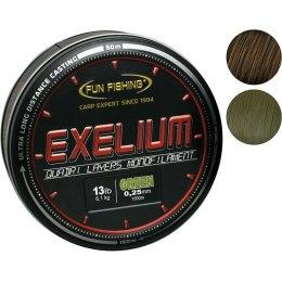 Fun Fishing Exelium Green 0,25mm 1000 m