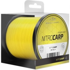 Fin Nitro Carp Line Fluo Yellow 0,25mm 1200 m