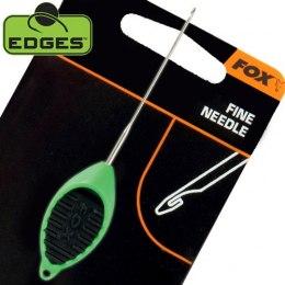 Fox Edges Fine Needle