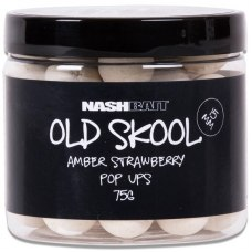 Nashbait Old Skool Amber Strawberry Pop-Ups 15mm