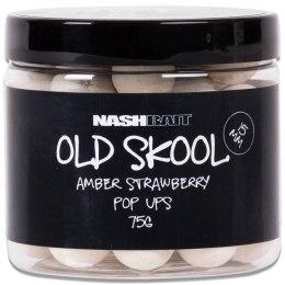 Nashbait Old Skool Amber Strawberry Pop-Ups 15mm
