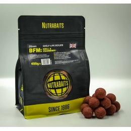 Nutrabaits BFM Krill & Cranberry Shelf-Life Boilies 15mm 1kg