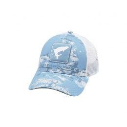 Simms Tarpon Icon Trucker Cloud Camo Blue