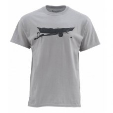 Simms Drift T-Shirt Granite M