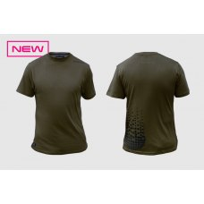 Sticky Dark Green Tee L