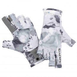 Simms SolarFlex SunGlove Cloud Camo Grey L