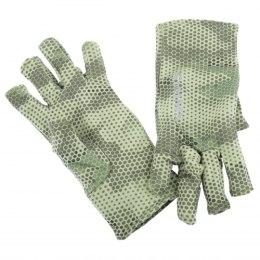 Simms Ultra-Wool Core 3-Finger Liner Hex Camo Loden L
