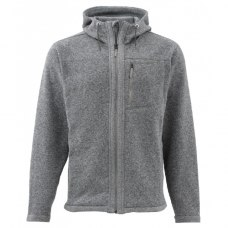 Simms Rivershed Full Zip Hoody Smoke S
