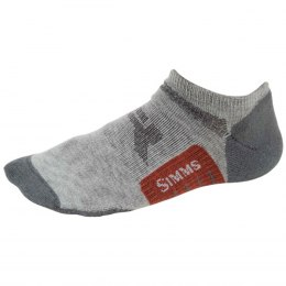 Simms Guide Lightweight No-Show Sock Boulder XL
