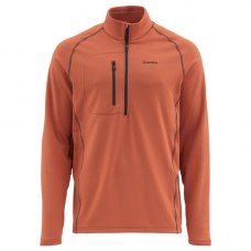 Simms Fleece Midlayer Top Simms Orange M