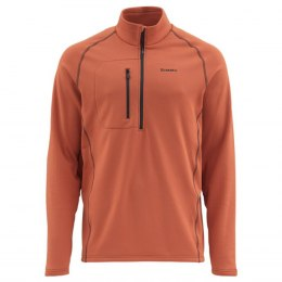 Simms Fleece Midlayer Top Simms Orange S