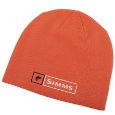 Simms Lockup Beanie Hunter Orange