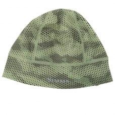 Simms Ultra-Wool Core Beanie Hex Camo Loden
