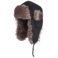 Fladen Fur Cap Black L